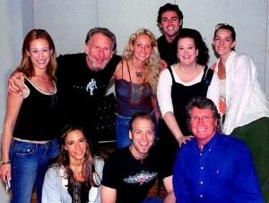 René with fellow Vampires cast members (Photo by Raymond McLeod)