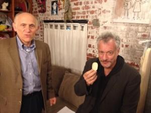 Armin Shimerman and John De Lancie