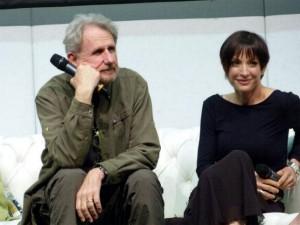 René and Nana listening