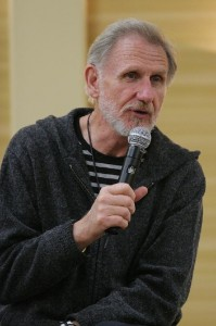 René at the Q&A (DN)